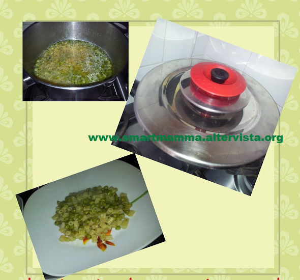 Pasta e piselli con Magic Cooker